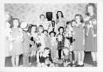 Grace E. Ingledue Papers - WFIN studio photograph - As Miss Sandman with children